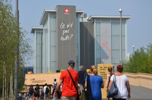 The Swiss Pavilion at the World EXPO in Milano, Italy - is there enough for all?